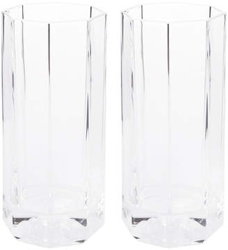 Versace Medusa Lumiere Long Drink Glasses