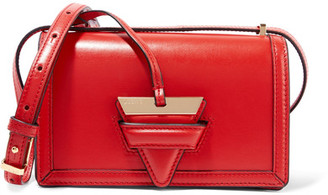 Loewe - Barcelona Small Leather Shoulder Bag - Red $1,690 thestylecure.com