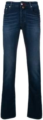 Jacob Cohen stonewashed bootcut jeans