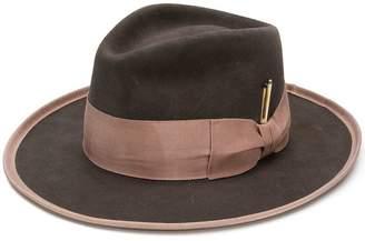 Nick Fouquet ribbon fedora hat