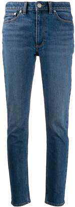 Burberry stonewashed effect straight jeans