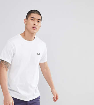 Obey T-Shirt With Jumble Logo Back Print In White