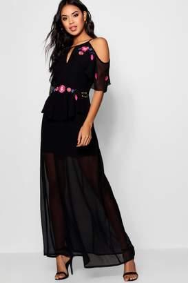dd4e254aa55b2 boohoo Embroidered Dresses - ShopStyle