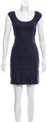 Rebecca Taylor Short Sleeve Midi Dress
