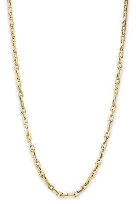 """Bloomingdale's Men's Oval Link Necklace in 14K Yellow Gold, 24"""" - 100% Exclusive"""