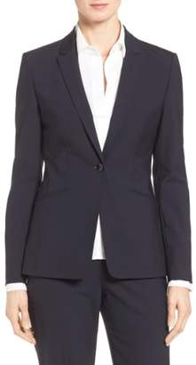 BOSS Jabina Tropical Stretch Wool Jacket