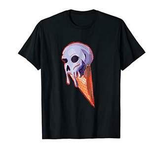 Holidaze Skull Ice Cream T-shirt