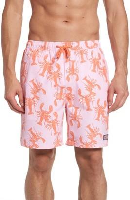 Men's Vineyard Vines Lobster Toss Chappy Swim Trunks $89.50 thestylecure.com