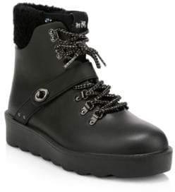 Coach Urban Faux Fur Hiking Boots