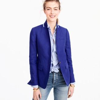 Regent blazer in linen $168 thestylecure.com