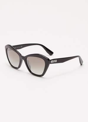 12df62e99794f Miu Miu Acetate angular frame sunglasses