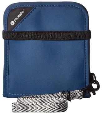 Pacsafe RFIDsafe V100 Anti-Theft RFID Blocking Bifold Wallet Wallet Handbags