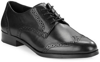 Cole Haan  Cole Haan Jagger Leather Wing-Tip Oxfords