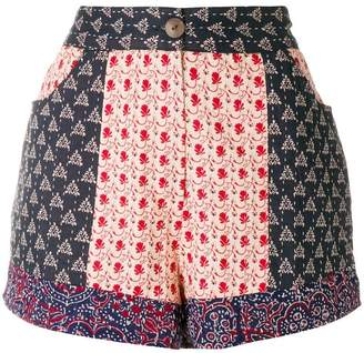 Antik Batik printed shorts