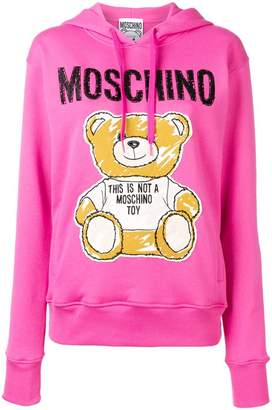 Moschino Sketch Bear hoodie