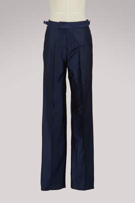 Officine Generale Celeste silk pants