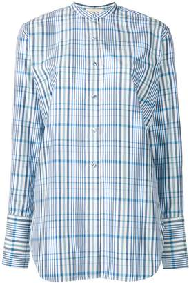 Ports 1961 checked tunic shirt
