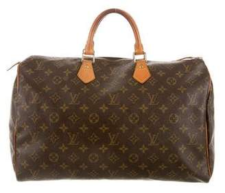 Louis Vuitton Monogram Speedy 40 $695 thestylecure.com