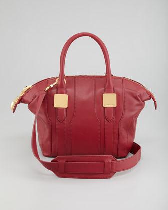 Rachel Zoe Morrison Small Tote Bag, Scarlet Red