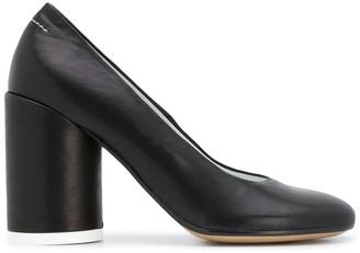 MM6 MAISON MARGIELA cylinder heel pumps