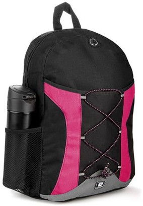 SUMACLIFE SumacLife Canvas Student's Large School Backpack with Multiple Compartments