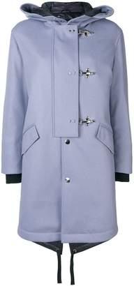 Fay toggle parka coat