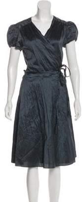 Calypso Short Sleeve Midi Dress