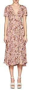 By Ti Mo byTiMo Women's Bouquet-Print Crepe Wrap Dress