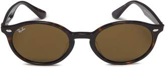 Ray-Ban 'RB4315' acetate oval sunglasses