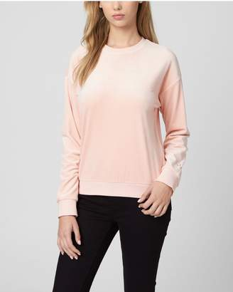 Juicy Couture Ultra Luxe Velour Crew Pullover