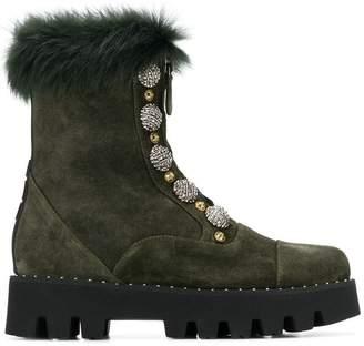 Alberto Gozzi zip-up boots