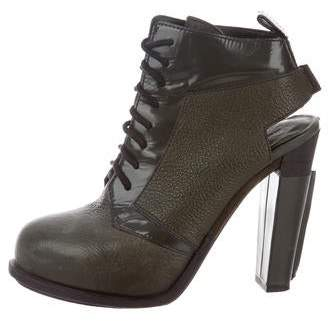 Alexander Wang Leather Ankle Boots