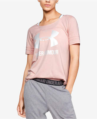 Under Armour Colorblocked Jersey T-Shirt
