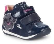 Geox Baby Girl's & Little Girl's B Each G Suede Sneakers