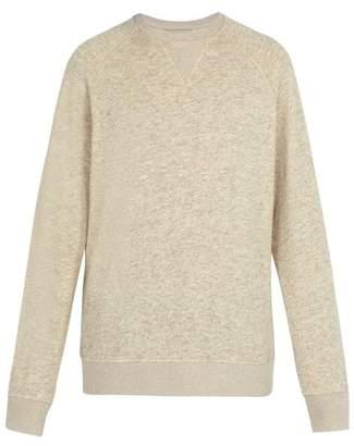 BEIGE President's - Cotton Blend Crew Neck Sweater - Mens