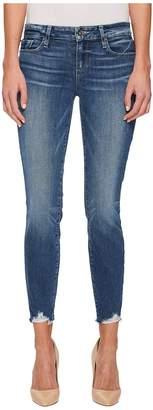 Paige Verdugo Ankle Petite with Super Distressed Hem Women's Jeans