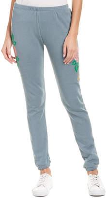 Wildfox Couture Indigo Rose Sweatpant