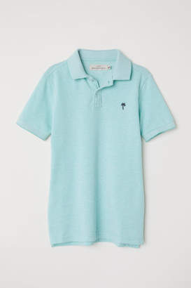 H&M Polo Shirt - Turquoise