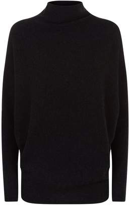 AllSaints Ridley Funnel Neck Sweater