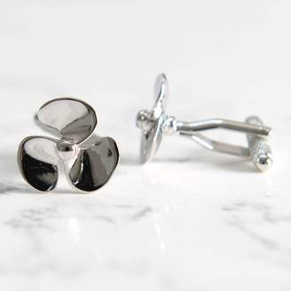 A Type Of Design Boat Propeller Cufflinks