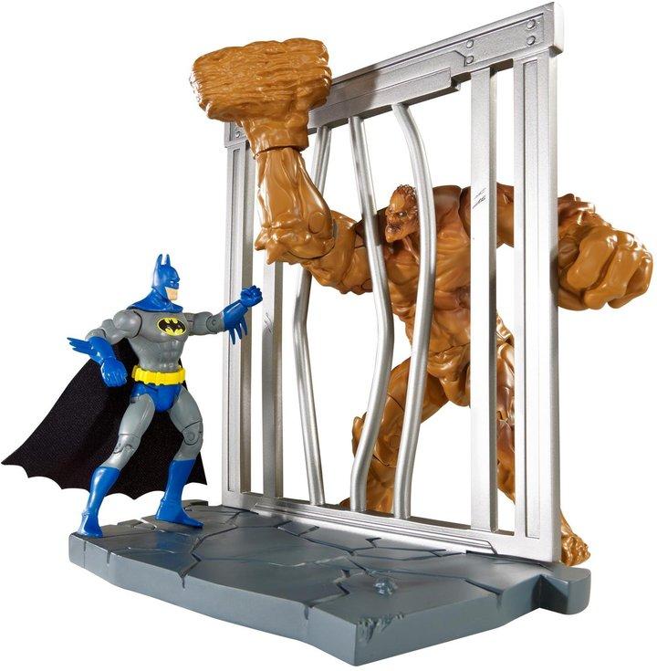 DC Comics Multiverse 4-Inch Classic Comic Skin Batman and Clayface Figure 2-Pack