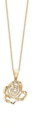 Fei Liu Fine Jewellery Women Gold 925 Sterling Silver Pendant Necklace of Length 20cm ROS-925G-303-PL00 f5Owm