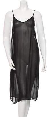 Isabel Marant Sheer Sleeveless Dress