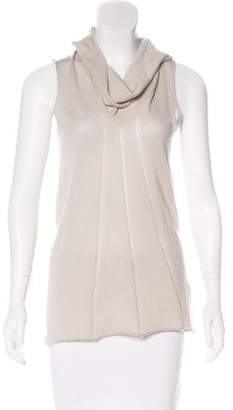Donna Karan Cashmere Sleeveless Top