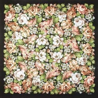 Pariscarves Tino Lauri Peach Rose Wool Shawl