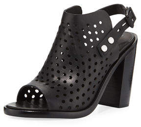 Rag & Bone Wyatt Perforated High-Heel City Sandal