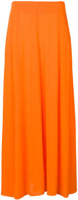 Mara Hoffman long panel skirt