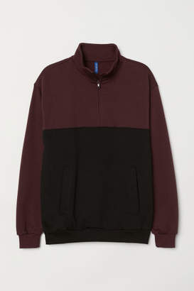 H&M Shirt with Collar - Black