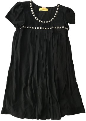 Catherine Malandrino Black Silk Dress for Women