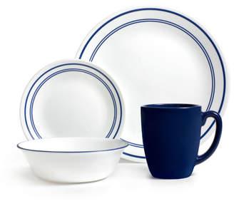 Corelle Livingware Classic Cafe 16 Piece Dinnerware Set, Service for 4
